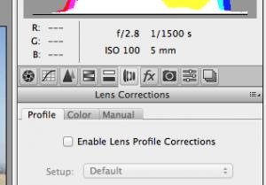 Lens Distortion Raw Step 2