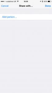Siri Share Reminders